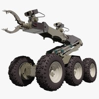 3d eod defender robot model