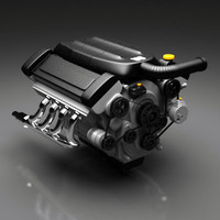 3d engine v8 generic model