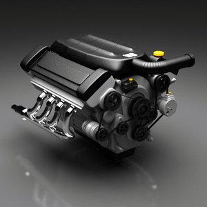 3d engine v8 generic model