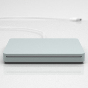 apple superdrive 3d model