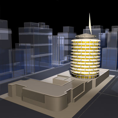 capital records 01 ca 3d model