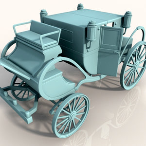 car carrozza 3d model
