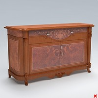 sideboard cabinet 3ds