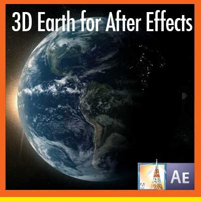 3d earth effects