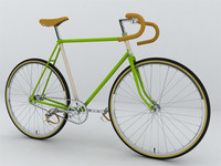 3d model vintage bicycle