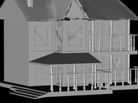 nice old house 3d model