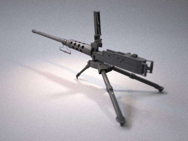 heavy machine gun obj