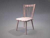 Chair (wooden)