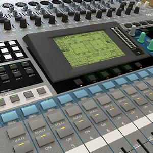 3d model studio mixer