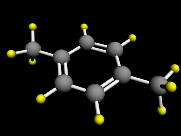 xylene atom max