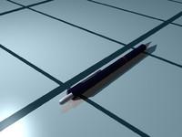 3d model mechanical pencil