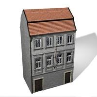 3d model building prague