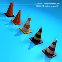 Road cones collection