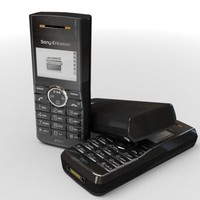 3d sonyericsson j120i cell phone