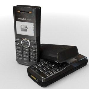 3d sonyericsson j120i cell phone