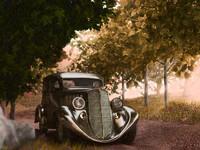 car 1935 3d model