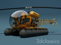oh-13s sioux 3d model