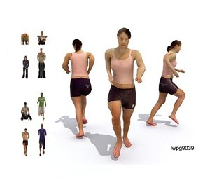people character 3d model