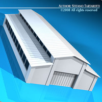 stable building dxf