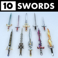 Fantasy swords collection