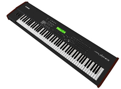 3d model of electronic piano
