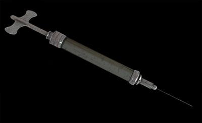 old syringe 3d model