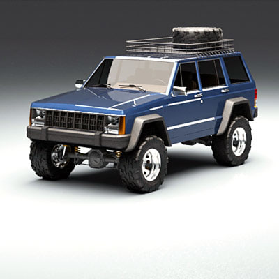 suv jeep 3ds