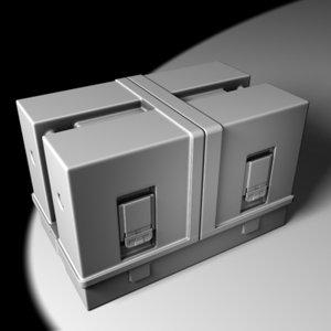 case transportation 3d model