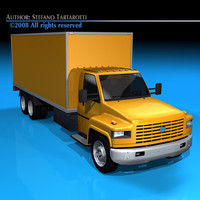 medium truck 3ds