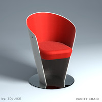 3ds vanity chair