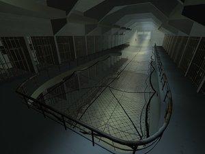 3d penitentiary prison