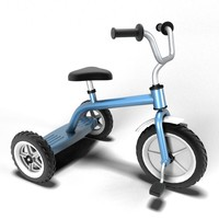 tricycle 3d obj