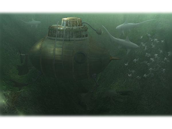 ma scene submarine