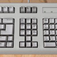 3d model keyboard scanline keys