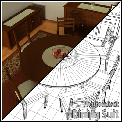 3ds dining suit