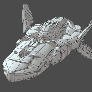 3ds max spaceship games real-time
