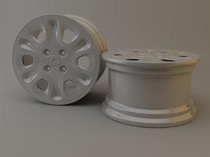 volk rim 3d model