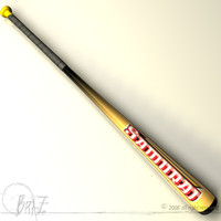 cinema4d baseball bat