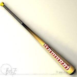 cinema4d baseball bat
