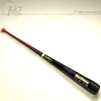 baseball bat 2 3d model