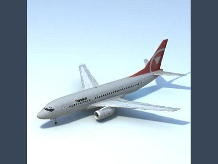 3ds 737-700 nwa w interior