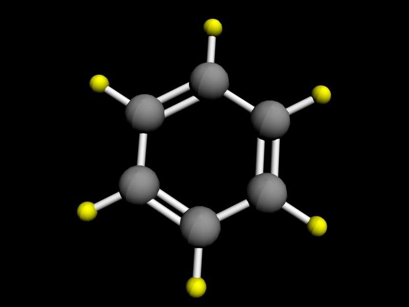 molecule benzene 3d max