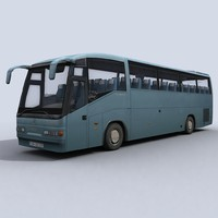 coach vehicle 3d model