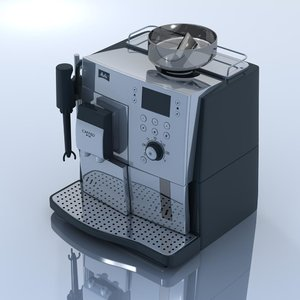 melitta coffee machine 3d 3ds