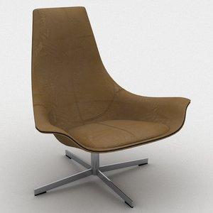 3d model matteo grassi chair