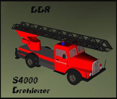 3ds max s4000 drehleiter
