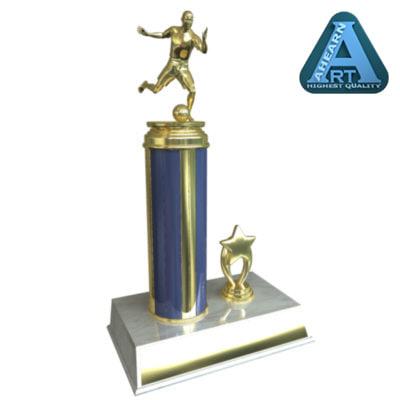 soccer trophy 3d model
