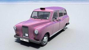 cinema4d pink london taxi