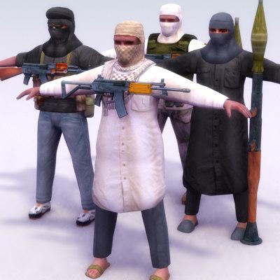3ds terrorist weapons insurgents