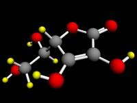 3d vitamin c model